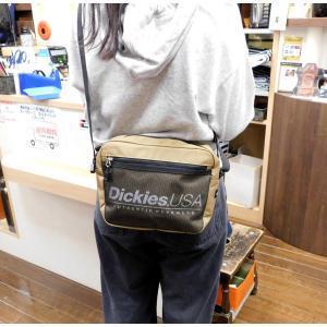 今、大流行のディッキーズのショルダーバッグです。 ちょっと大きめのサイズで長財布もペットボトルも収納...