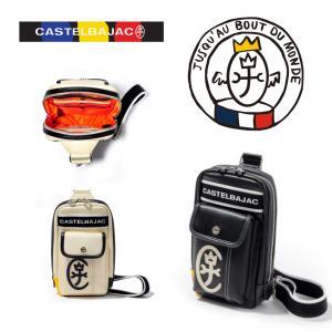 カステルバジャック CASTELBAJAC ドミネ ボディバッグ M ワンショルダー メンズ カジュアルバッグ  024912|jaguar-bagshop