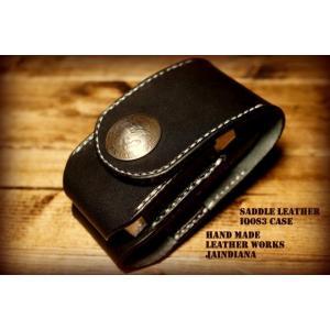 国産栃木サドルレザーを使用し、一針一針手縫いで製作したアイコス3ケースです。 色・・・ブラック 素材...