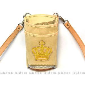 ★2−4週間以内での発送となります。お急ぎの場合はご相談ください★  牛革製  王冠は金糸の刺繍です...