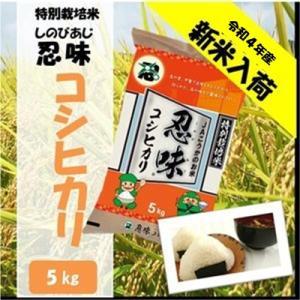 滋賀県産近江米 JAこうか 特別栽培米 忍味 コシヒカリ5kg お米 白米|jakouka