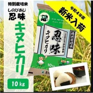 滋賀県産近江米 JAこうか 特別栽培米 忍味 キヌヒカリ10kg お米 白米|jakouka