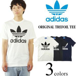 アディダス adidas オリジナルス トレフォイル Tシャツ 米国流通モデル (ORIGINALS TREFOIL TEE メンズ)|jalana