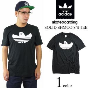 アディダス スケートボーディング adidas skateboarding 米国流通モデル ソリッド シュムー Tシャツ (SHMOO マーク ゴンザレス ゴンズ)|jalana