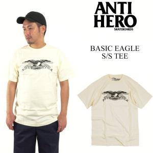アンタイ ヒーロー / アンチ ヒーロー ANTI HERO ベーシックイーグル 半袖 Tシャツ (AH BASIC EAGLE)|jalana