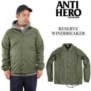 アンタイ ヒーロー / アンチ ヒーロー ANTI HERO リバース ウインドブレーカー (AH RESERVE WINDBREAKER コーチジャケット)|jalana
