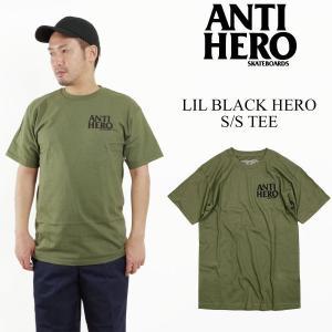 アンタイ ヒーロー / アンチ ヒーロー ANTI HERO リルブラックヒーロー 半袖 Tシャツ (AH LIL BLACK HERO)|jalana