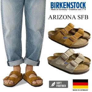 ビルケンシュトック BIRKENSTOCK アリゾナ ソフトフットベッド  (メンズ/レディース ARIZONA SFB ビルケン 幅広 普通幅 サンダル)|jalana