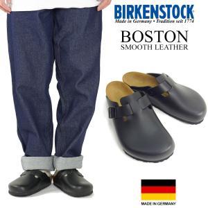 ビルケンシュトック BIRKENSTOCK ボストン スムースレザー (メンズ/レディース BOSTON ビルケン 幅広 普通幅 サンダル)|jalana