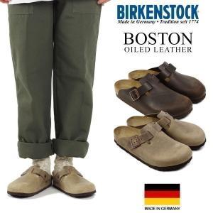 ビルケンシュトック BIRKENSTOCK ボストン オイルドレザー (メンズ/レディース BOSTON ビルケン 幅広 普通幅 サンダル)|jalana