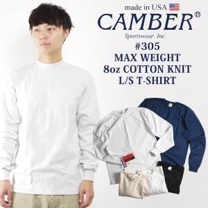 キャンバー CAMBER 305 マックスウェイト 長袖 クルー Tシャツ BIG SIZE MAD...