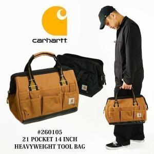 """カーハート Carhartt #260105 レガシー 14インチ ツールバッグ LEGACY 14"""" TOOL BAG 工具箱の画像"""
