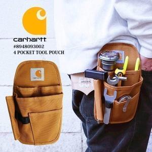カーハート Carhartt CT0930 4ポケット ポーチ ユニセックス 89480930 4 Pocket Tool Pouch ウエストポーチ ツールポーチ jalana