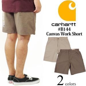 カーハート Carhartt B144 キャンバス ワークショーツ (ペインター ショーツ セルフォン)|jalana