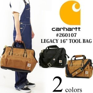 """カーハート Carhartt #260107 レガシー 16インチ ツールバッグ LEGACY 16"""" TOOL BAG 工具箱 jalana"""