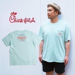 チックフィレイ Chick-fil-A オリジナル ポケットTシャツ 半袖 S-XXL メンズ ポケT 海外買い付け ご当地 jalana