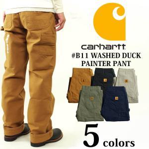 カーハート Carhartt B11 ウォッシュド ダック ペインターパンツ (WASHED DUCK WORK PANT ワークパンツ)|jalana