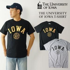 UNIVERSITY OF IOWA ロゴTシャツ (メンズ S-XXL カレッジTシャツ アイオワ大学 海外買い付け)|jalana