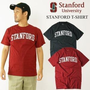 STANFORD UNIVERSITY ロゴTシャツ (メンズ S-XXL カレッジTシャツ スタンフォード 海外買い付け)|jalana