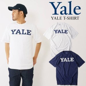 YALE UNIVERSITY ロゴTシャツ (メンズ S-XXL カレッジTシャツ イエール 海外買い付け)|jalana