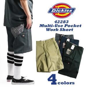 ディッキーズ Dickies 42283 13インチ セルフォンポケット ワークショーツ (チノショーツ ルーズフィット ショートパンツ)|jalana
