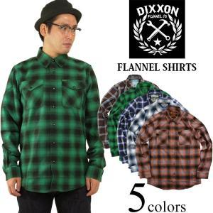 ディクソンフランネル DIXXON FLANNEL CO.フランネルシャツ2 (チェック ネルシャツ)|jalana