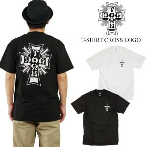 ドッグタウン DOG TOWN 半袖Tシャツ クロスロゴ (CROSS LOGO S/S T-SHIRT)|jalana