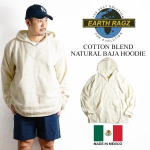 アースラグズ EARTH RAGZ ナチュラル バハ フーディ(メキシカンパーカー BAJA JOES)|jalana