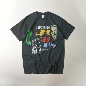 FEA Merchandise 半袖Tシャツ ビースティーボーイズ ルートダウン ブラック(BIESTY BOYS ROOT DOWN バンドT)|jalana