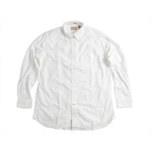 ギットマン ブラザーズ Gitman Bros. オックスフォード ボタンダウンシャツ ホワイト (米国製 B.D OXFORD SHIRT 長袖)|jalana