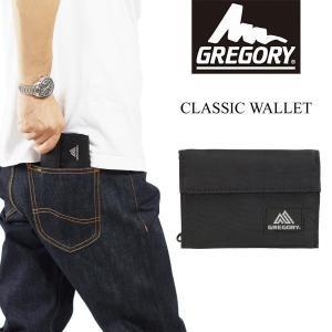 グレゴリー GREGORY クラッシックウォレット (CLASSIC WALLET 財布 ワレット 二つ折り 三つ折り ナイロン ベルクロ)|jalana