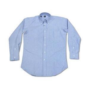 アイク ベーハー IKE BEHAR オックスフォード ボタンダウンシャツ ライトブルー (米国製 OXFORD B.D. SHIRT)|jalana
