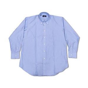 アイク ベーハー IKE BEHAR オックスフォード ボタンダウンシャツ ブルー (米国製 OXFORD B.D. SHIRT)|jalana