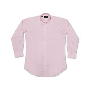 アイク ベーハー IKE BEHAR オックスフォード ボタンダウンシャツ ライトピンク (米国製 OXFORD B.D. SHIRT)|jalana