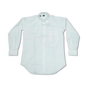 アイク ベーハー IKE BEHAR オックスフォード ボタンダウンシャツ ホワイト (米国製 OXFORD B.D. SHIRT)|jalana