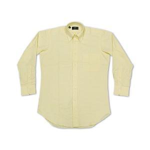 アイク ベーハー IKE BEHAR オックスフォード ボタンダウンシャツ イエロー (米国製 OXFORD B.D. SHIRT)|jalana