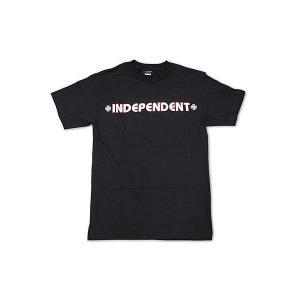 インディペンデント INDEPENDENT 半袖Tシャツ バークロス ブラック  (BAR/CROSS )|jalana