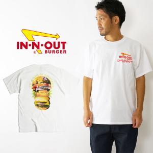 インアンドアウトバーガー 半袖 Tシャツ 1993 40th テイストオブカリフォルニア ホワイト メンズ S-XXL In-N-Out Burger ご当地Tシャツ 海外買い付け jalana