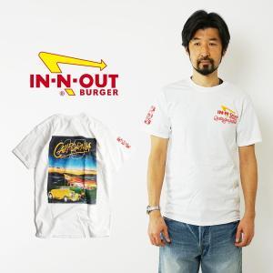 インアンドアウトバーガー 半袖 Tシャツ 1994 45周年アニバーサリー ホワイト (メンズ S-XXL In-N-Out Burger ご当地Tシャツ 海外買い付け)|jalana