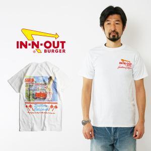 インアンドアウトバーガー 半袖 Tシャツ 1990 '57 ベト ホワイト (メンズ S-XXL In-N-Out Burger ご当地Tシャツ 海外買い付け)|jalana