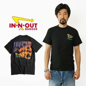 インアンドアウトバーガー 半袖 Tシャツ 2017 ブラック カリフォルニア ドリーミン ブラック (メンズ S-XXL In-N-Out Burger ご当地Tシャツ 海外買い付け)|jalana