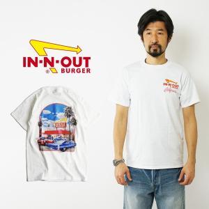 インアンドアウトバーガー 半袖 Tシャツ 2000 ミレニアム ホワイト (メンズ S-XXL In-N-Out Burger ご当地Tシャツ 海外買い付け)|jalana