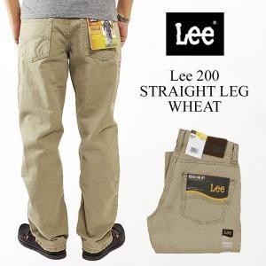 リー Lee #200 ストレート ジーンズ ウィート(STRAIGHT LEG JEAN WHEAT)|jalana
