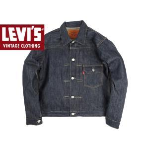 リーバイス ビンテージ クロージング LEVI'S VINTAGE CLOTHING 1936's TYPE1 JACKET リジッド (LVC 70506-0023 RIGID 1st ファースト ジージャン 米国製)|jalana
