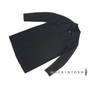 マッキントッシュ MACKINTOSH ゴム引きコート ダンケルド ブラック (DUNKELD-IJ BLACK)|jalana