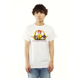 マクドナルド Tシャツ 別注 チャンピオンボデ...の詳細画像1