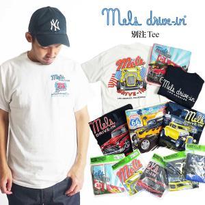 メルズ ドライブイン Mel's DRIVE-IN 別注 半袖 Tシャツ メンズ S-XXL 海外買い付け商品 jalana