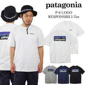 パタゴニア patagonia 半袖 Tシャツ P-6 ロゴ レスポンシビリティー (39174 P6 LOGO RESPONSIBILI-TEE メンズ)|jalana