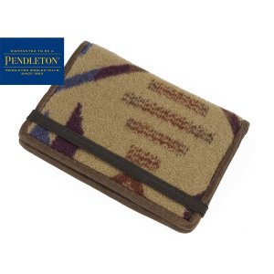 ペンドルトン PENDLETON カードケース コヨーテビュート カーキ (CARD CASE 名刺入れ)|jalana