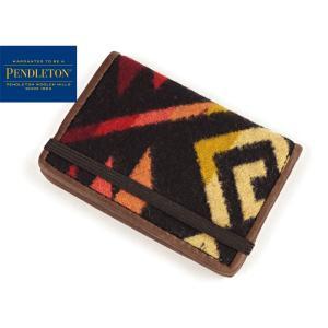 ペンドルトン PENDLETON カードケース コヨーテビュート ブラック (CARD CASE 名刺入れ)|jalana